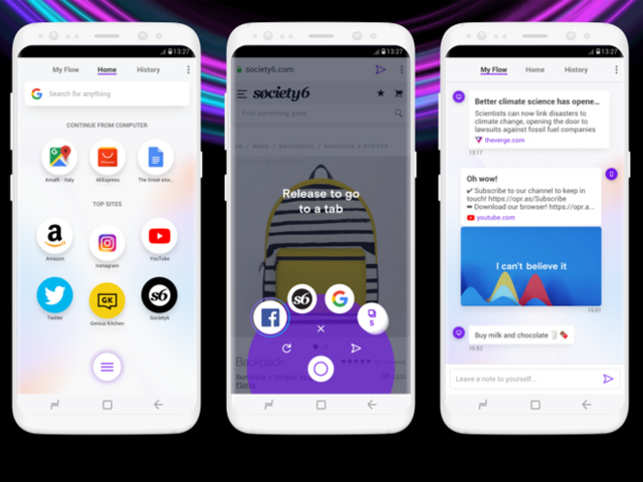For everyone who uses their phone with one hand, Opera Touch is the browser you need