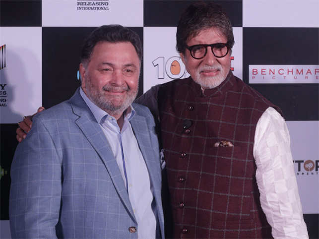 Big B says working with Rishi Kapoor after 27 years was like getting off a bicycle and getting on it again