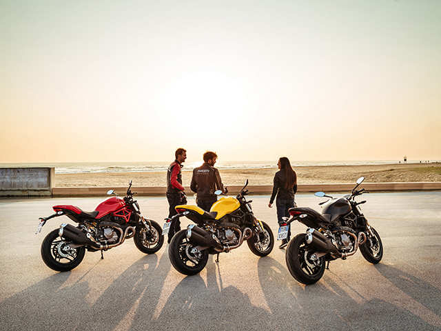 India Ducati India Launches Monster 821 At An Introductory Price Of