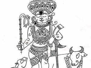 In Hindu mythology, Vishnu is associated with economic activities