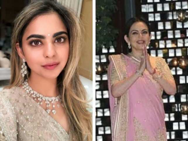 Isha Ambani looks divine at star-studded engagement party, mum Nita dedicates special dance performance