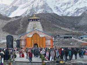Kedarnath yatra halted due to snowfall