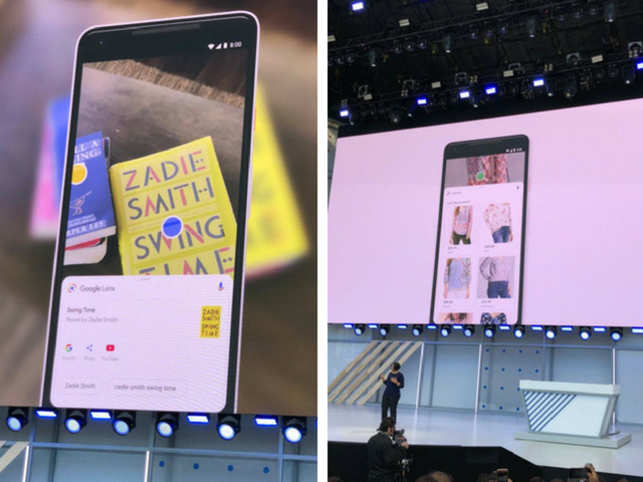 """The lens can copy any text from the real world into your phone. This is something Google has demonstrated before, but now it sounds like the feature is ready and actually coming to Google Lens. You'll be able to point your phone's camera at text in the real world — say, a written down Wi-Fi password — grab that text, and then paste it into a text field on your smartphone. And now it's also going to help you buy fashionable things. Google Lens still isn't perfect at identifying precise items of clothing, but Google thinks it can get close enough. The company is introducing a new """"style match"""" feature that will scan something the camera is pointed at and help you buy it from internet retailers. Sounds like a dream come true for Pinterest fans. But will Amazon be among those stores?"""