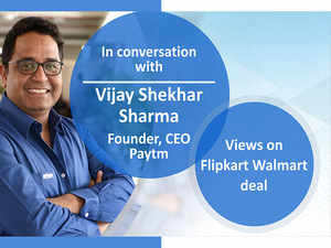 Exclusive: Paytm's Vijay Shekhar Sharma on Flipkart-Walmart deal