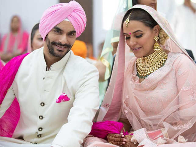 Neha Dhupia ties the knot with best friend Angad Bedi - The Economic