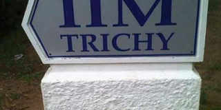 IIM Trichy News and Updates from The Economic Times