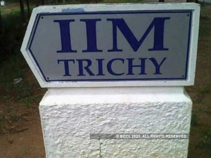 IIM Trichy completes final placements with average salary of Rs