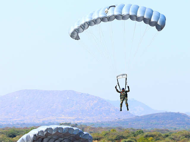 Even parachute cloth not available in India to meet full requirement: DGOF