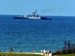 Thaw in military ties as India sends warship to Maldives