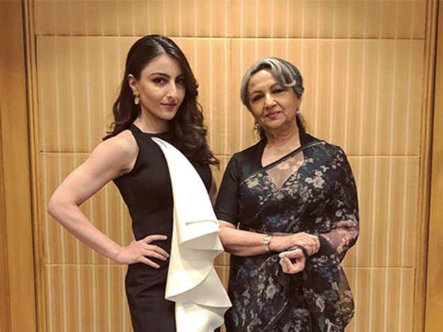 Mum-daughter Sharmila and Soha on raising children in two very
