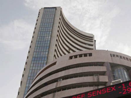 Sensex jumps 200 points as BJP gains early lead in Karnataka election, Nifty above 10,800; D-Mart gains 6%