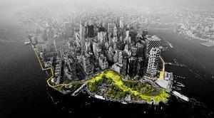 New York : This illustration provided by Rebuild by Design in October 2017 show...