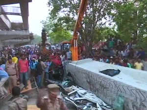 Varanasi flyover collapses: Atleast 12 dead, 50 feared trapped