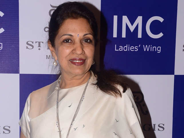 Nayantara Jain, the president of the Ladies' Wing of the IMC Chamber of Commerce and Industry