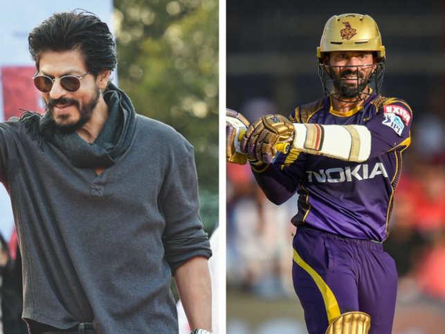 Post-Royals win, KKR boss SRK tweets like Robert Frost for skipper Karthik