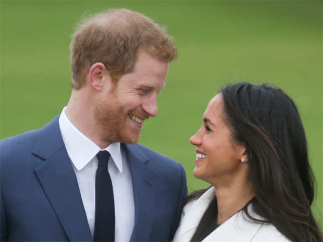 A blind date turned into a tale of love at first sight for Prince Harry, Meghan Markle