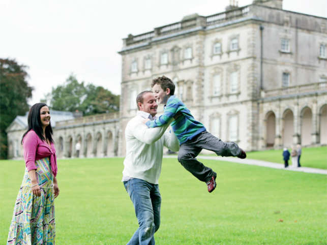 Florence Court, a large 18th-century mansion, in Northern Ireland has gardens, a visitor centre and forest park trails that makes for a perfect mix.