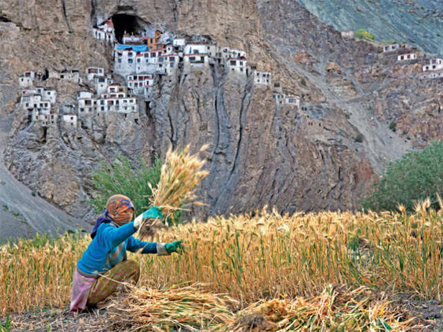 AN UNTOUCHED MARVEL: A trek to the remote Himalayan jewel The Phuktal Monastery is considered as one of the best offbeat treks in India. It is a sequestered Buddhist monastery in Lungnak valley, the most remote valley of Zanskar, Ladakh. (©GettyImages)