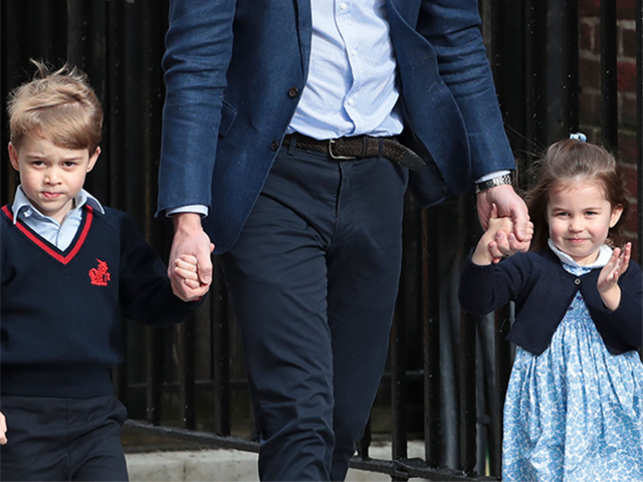 Royal wedding: Prince George and Princess Charlotte to be page boy and bridesmaid
