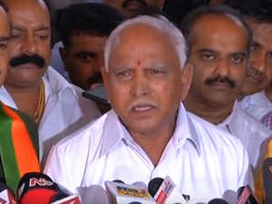 Karnataka elections: Yeddyurappa urges Governor to make him CM as soon as possible