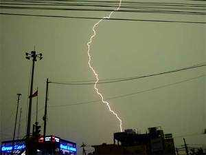 Meteorological Department warns of thunderstorms till Saturday