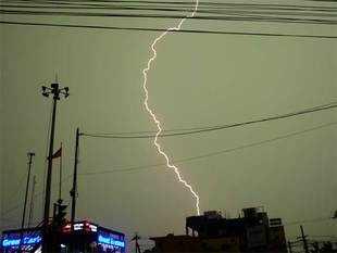 Meteorological Department warns of thunderstorms till Saturday