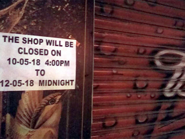 Left high and dry on election weekend, Bengaluru resto-bars call ban on liquorsalesan 'archaic law'