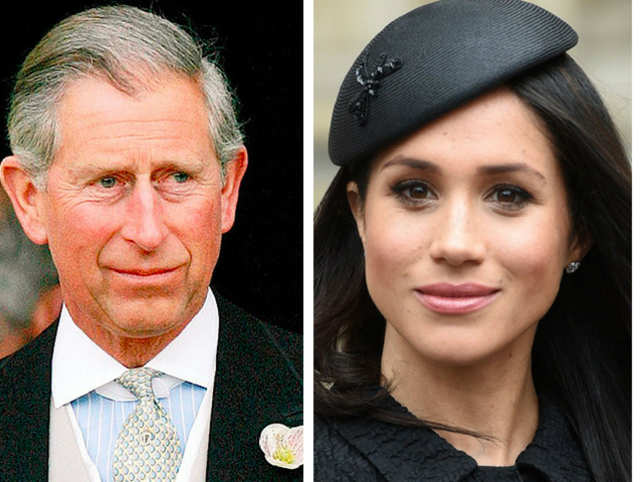 Prince Charles will now walk Meghan Markle down the aisle