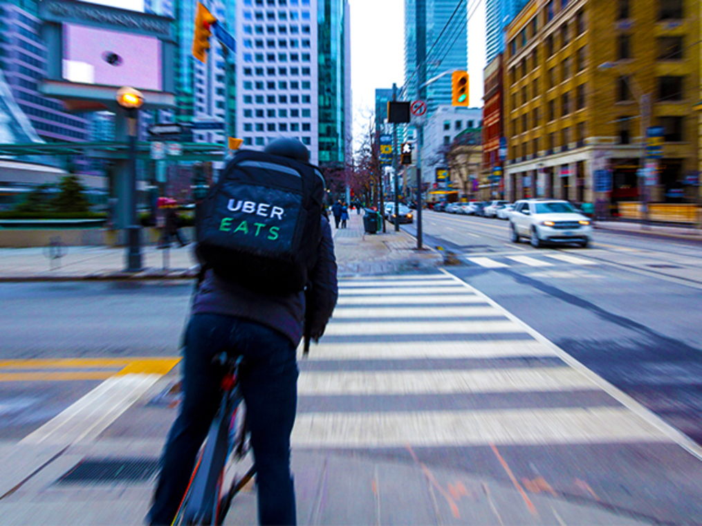 Birthday kid Uber Eats wants to grow up fast, doesn't want to follow elders