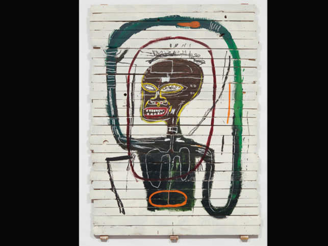 A Basquiat work from the 20th century fetched $45.3 million in an auction