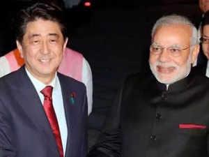 PM Modi, Abe