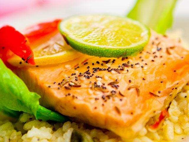 Skip meat, eat fish twice a week for a healthy heart