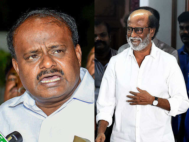 Why JDs candidate HD Kumaraswamy called Rajinikanth to Karnataka?