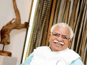 One Haryana ex-CM in jail, another set to go: Manohar Lal Khattar