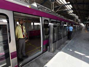 delhi metro's magenta line: Delhi Metro Magenta Line