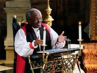 American bishop at royal wedding thought wedding invite was an April Fool's joke
