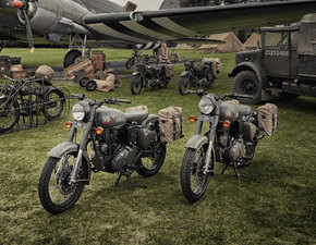India's first war-inspired bike is here: Royal Enfield launches Classic 500 'Pegasus' in UK