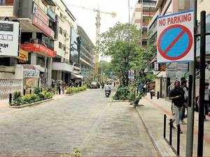 Bengaluru cops clueless why parking is banned on Church Street