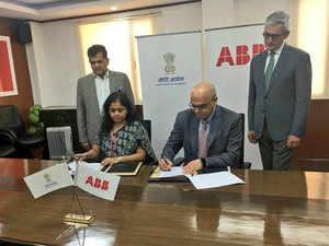 Niti Aayog Niti Abb Join Hands To Benefit India From Ai Robotics