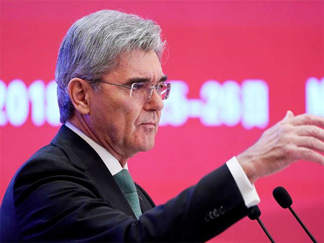 Data is the 21st century's oil, says Siemens CEO Joe Kaeser