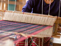 Wealth from waste! This loom in Bengaluru can turn paper, rubber strips into green products