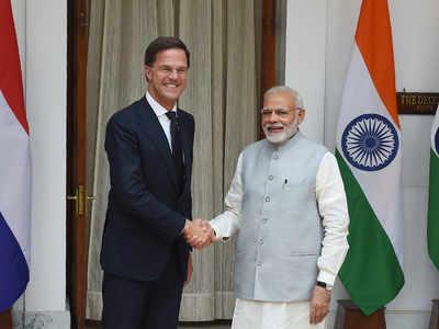 PM Narendra Modi meets his Netherlands counterpart Mark Rutte