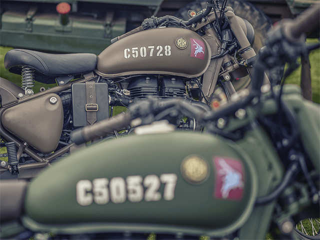 Royal Enfield in World War II - Royal Enfield launches World