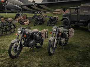 Royal Enfield launches World War II era-inspired motorcycle in UK