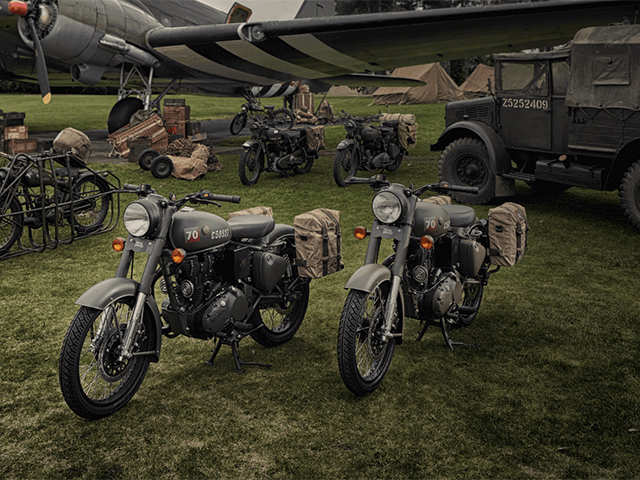 Royal Enfield Launches World War Ii Era Inspired Motorcycle In Uk