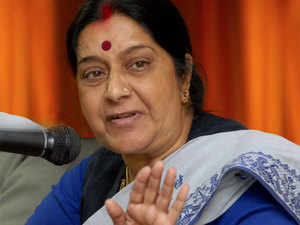 Indian missions in Canada working round the clock after blast at Indian restaurant: Sushma Swaraj