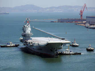 China aircraft carrier pilots complete first night missions