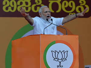 BJP uses Narendra Modi indirectly as mascot for bypolls