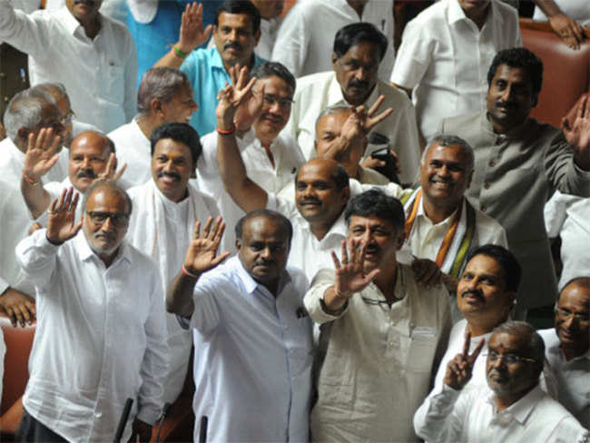 Some issues with Cong over portfolio allocation: Kumaraswamy