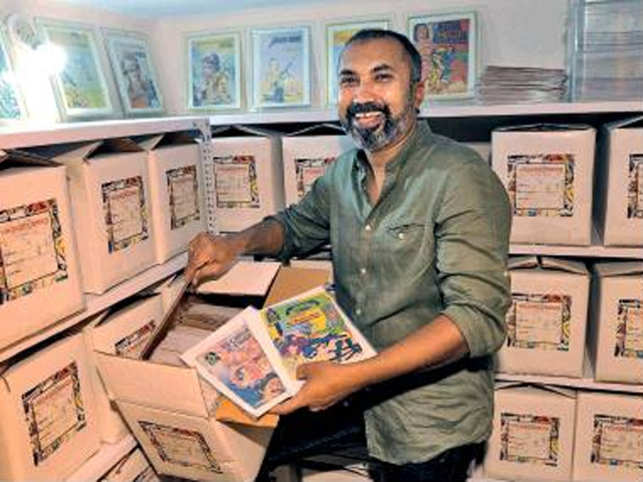 Are you a fan of Tinkle, Amar Chitra Katha? This 43-year-old archives the journey of Indian comics